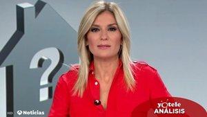 Sandra Golpe en 'Antena 3 Noticias'.