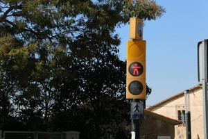 Un semáforo de Parets