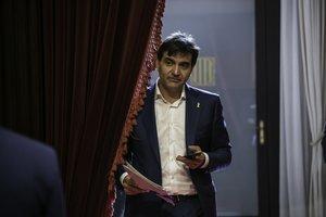 Sergi Sabrià (ERC), en el Parlament.