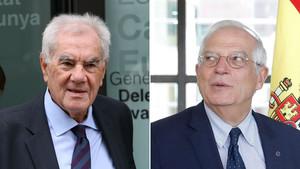Maragall: «Borrell intenta posar portes al camp»
