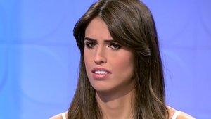 Sofia Suescun desmiente la información que dio 'Sálvame' sobre su supuesto tonteo con un futbolista internacional