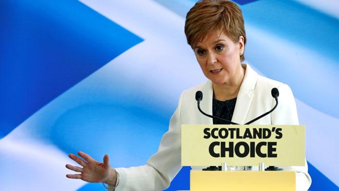 Sturgeon: «Catalunya és la prova que si el procés no és legal no porta a la independència»