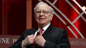 Warren Buffett en una gala en el 2015.