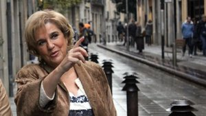 Pilar Rahola, en el programa de TV-3 'Fora de sèrie'.