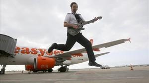 """Gerard Ranquin: """"El metall és la meva vàlvula d'escapament després dels vols"""""""