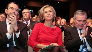 La presidenta de la región parisina Valérie Pécresse.