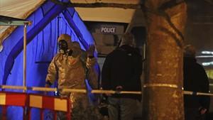 """La policia identifica com a """"gas nerviós"""" la substància que va enverinar l'espia rus"""