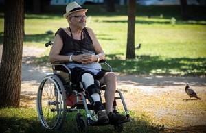 Pere Traveria, de 75 años, uno de los primeros miembros del Front dAlliberament Gai de Catalunya