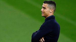 Cristiano Ronaldo, futbolista en la Juventus y la selección portuguesa