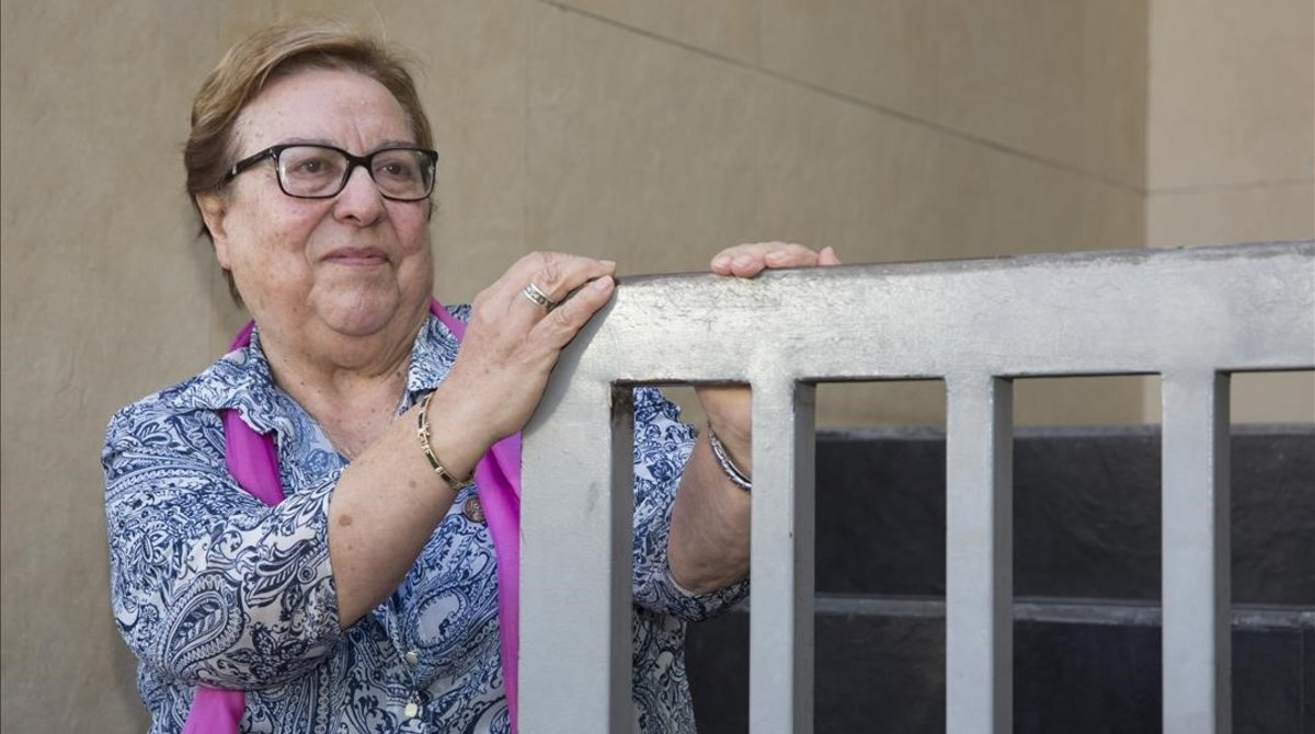 """Antonia Jover del Olmo: """"Mi madre me amamantó tres años en la cárcel"""""""