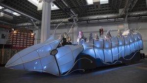 La nueva carroza del rey Gaspar bebe de la tradición y de la innovación.