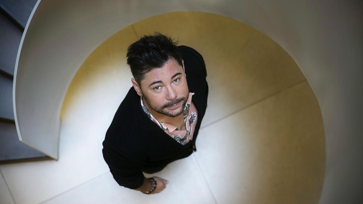 Miguel Poveda. en una imagen de mayo del 2019.