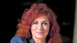 La presidenta de la SGAE, la soprano Pilar Jurado.