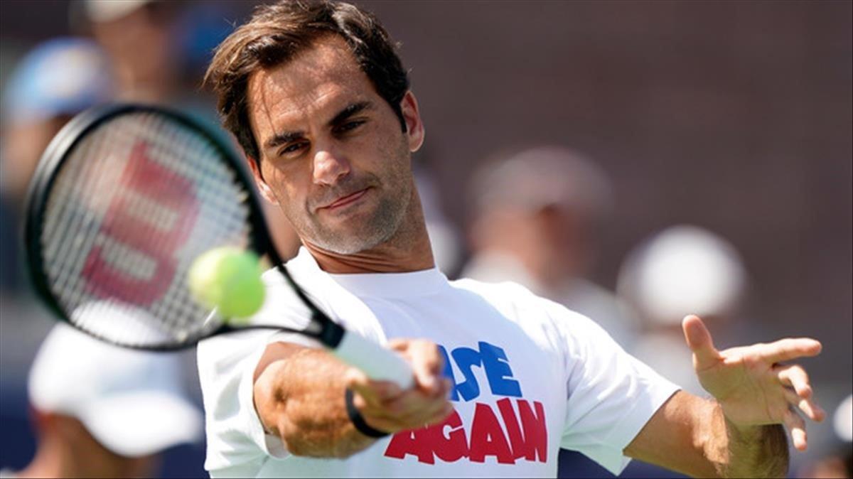 Federer cau a Nova York