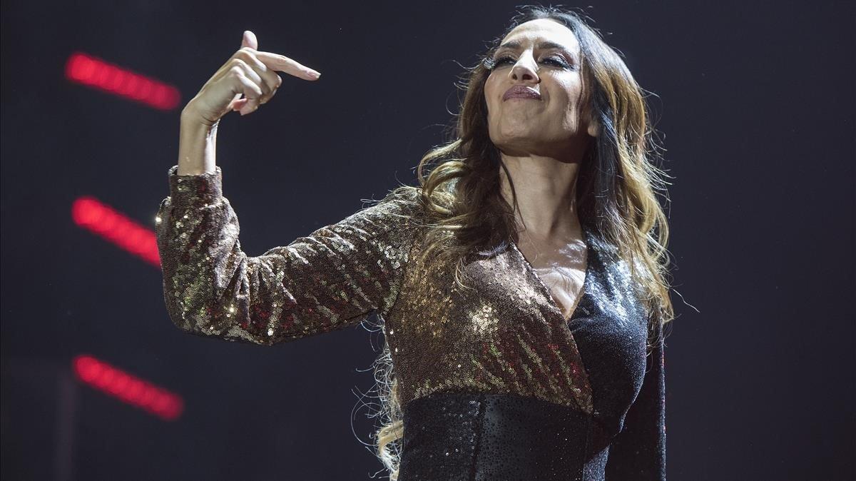 Mónica Naranjo, en el Sant Jordi.