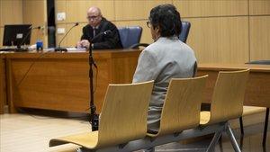 Momento del juicio contra el educador sexual condenado por abusos en València.