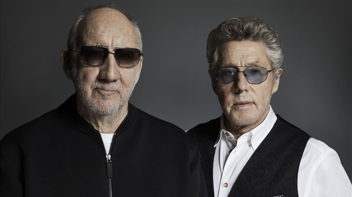 Peter Townshend y Roger Daltrey, The Who.