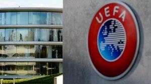 Sede de la Uefa en Nyon, Suiza.