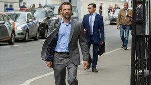 Mathieu Kassovitz, alias Malotru, en la quinta temporada de 'Oficina de infiltrados'.