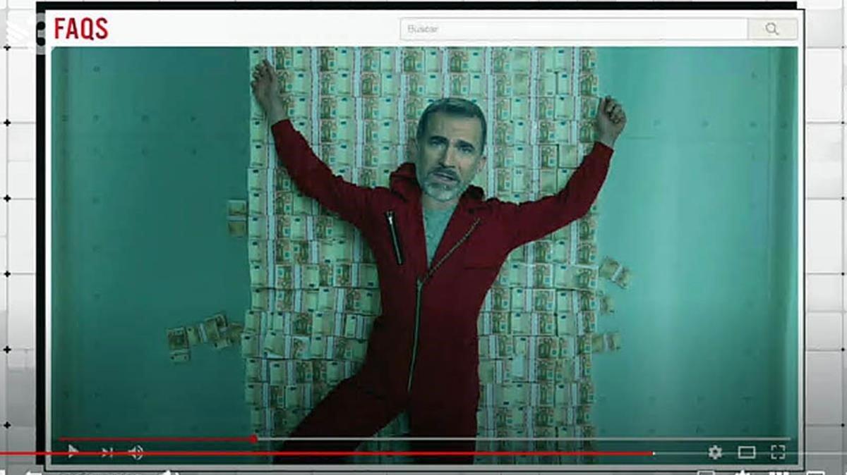 TV-3: Borbons atracant 'La casa de papel'