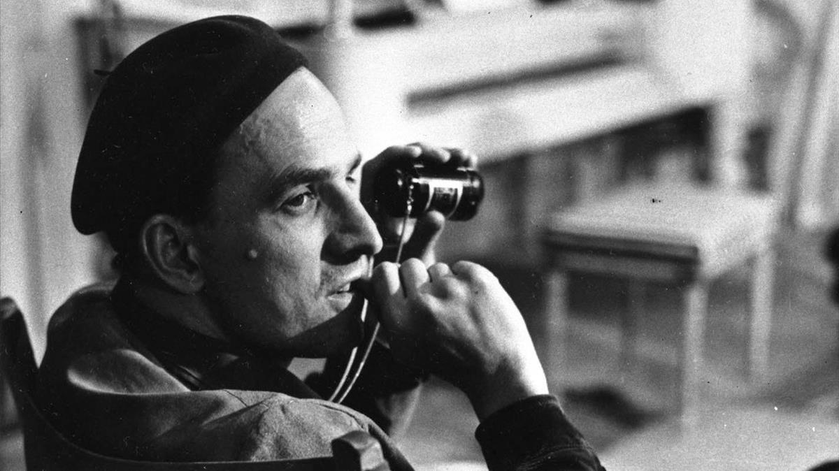 El cineasta Ingmar Bergman, en 1963.