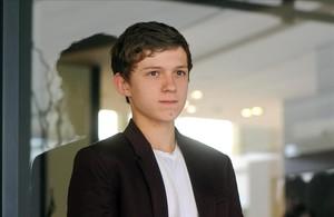 El joven actor, Tom Holland, actor de Lo imposible, en el festival de cine de Sitges, en el 2012.