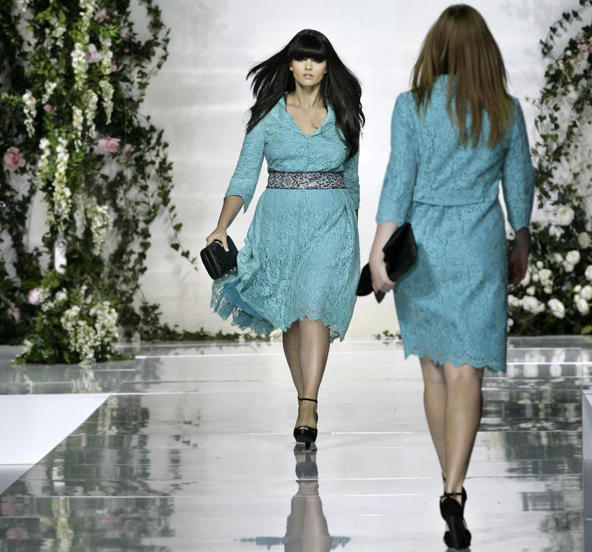 Moda \'curvy\' espejismo industria textil
