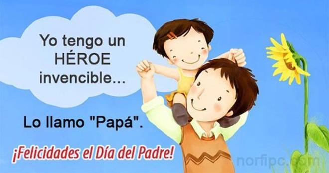20 Frases E Imagenes Para El Dia Del Padre