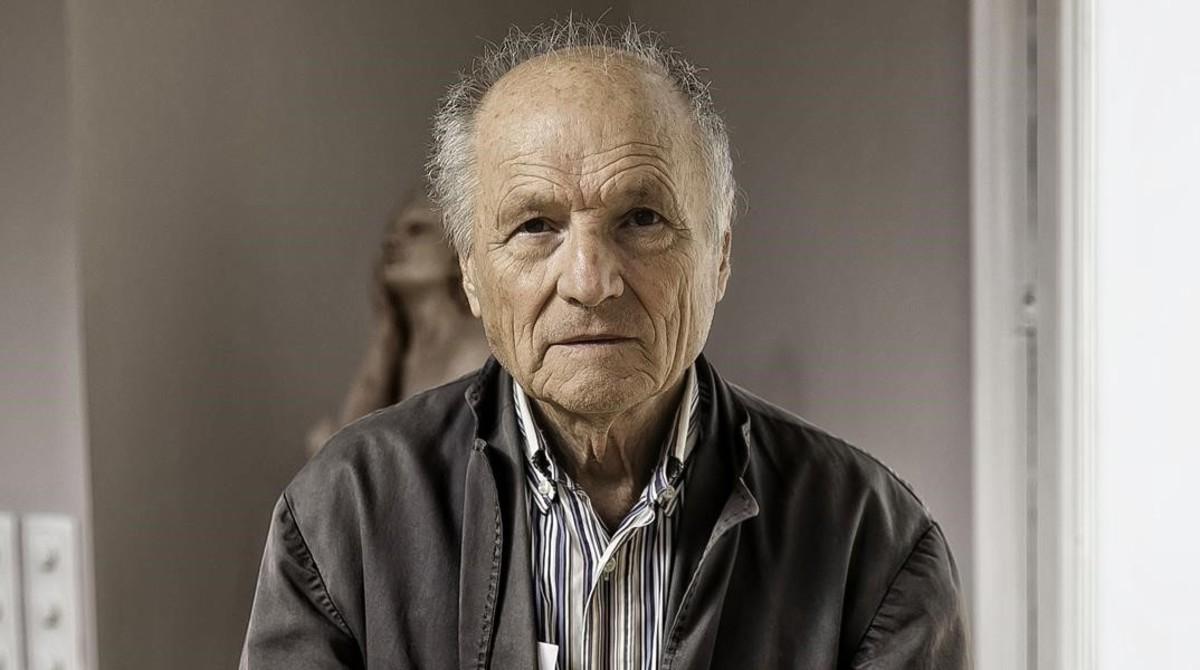 El pintor Antonio López, uno de los firmantes del manifiesto.