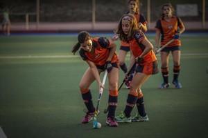 7 equipos femeninos 8Entrenamiento de jugadoras del Catalònia.