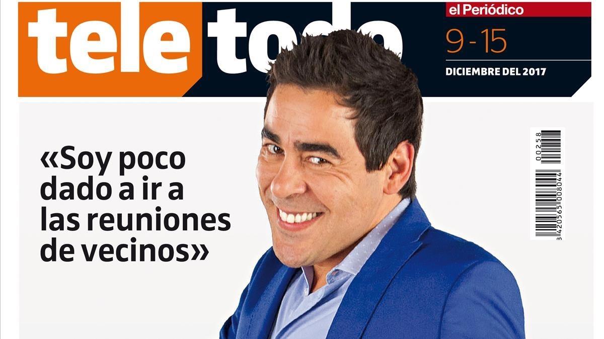 Pablo Chiapella, en la portada de Teletodo