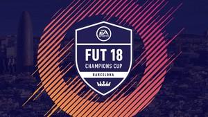 Cartel del FUT 18 Champions Cup Barcelona