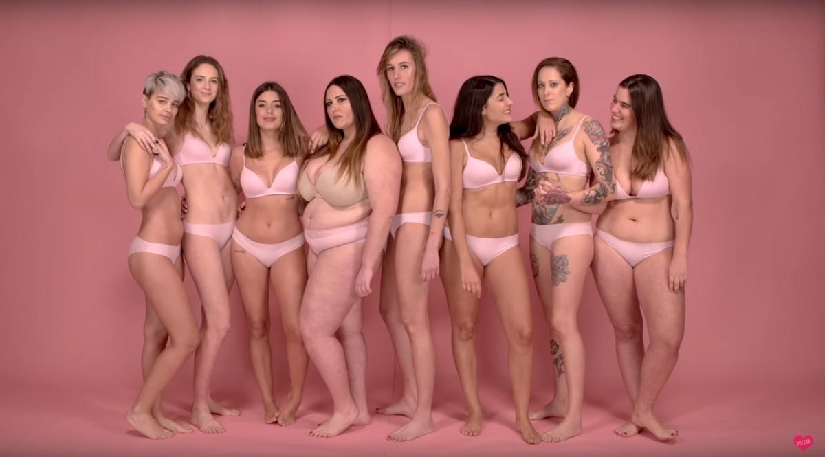 Image result for 'Influencers' y modelos participan en un vídeo que lucha contra la discriminación entre mujeres