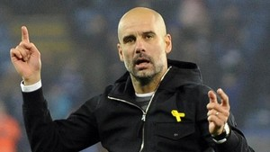 zentauroepp41375460 manchester city manager josep guardiola celebrates towards f180301123349