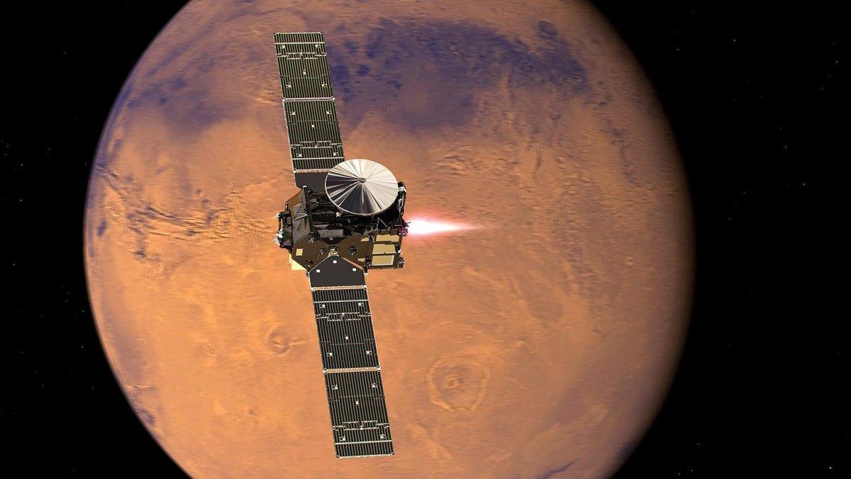 Los eclipses en Marte fueron tomadas por la sonda Curiosity.