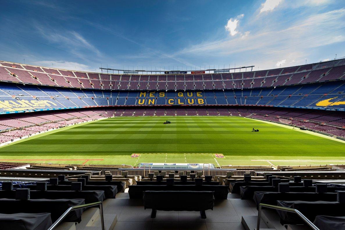 Imagen del Camp Nou, estadio del FC Barcelona.
