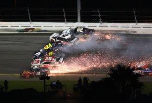 La imagen del accidente.