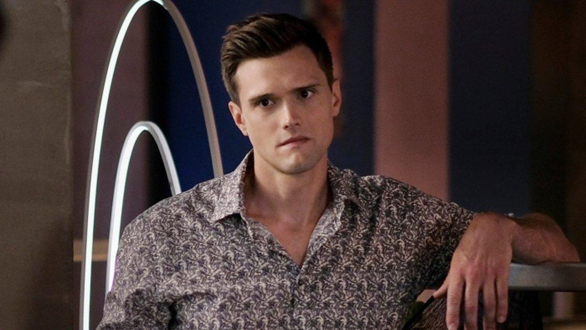 El actor Hartley Sawyer.