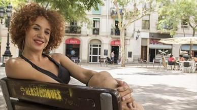 """Lali Feliu, actriz: """"Cuando en Sants hay una necesidad, se reivindica"""""""