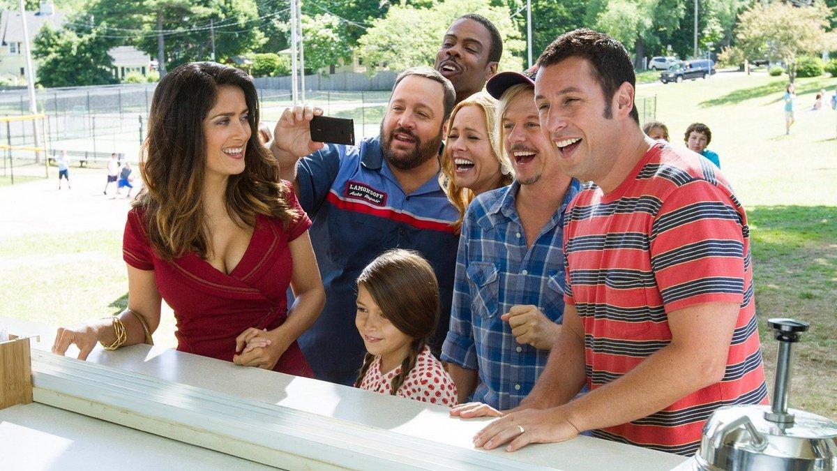 Adam Sandler protagoniza 'Niños grandes 2' en Antena 3.