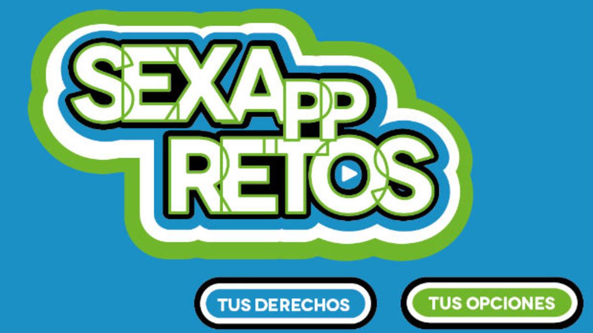 La aplicación de educación sexual SexAppRetos.