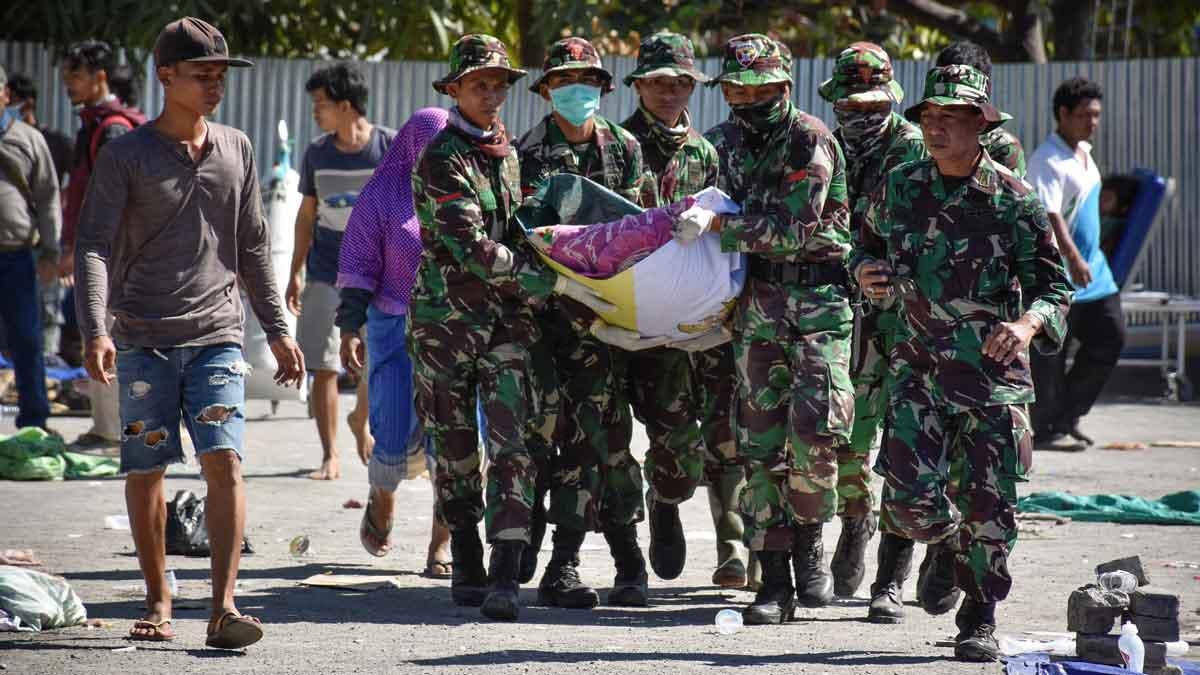 Ascienden a 91 los muertos por el terremoto de Indonesia.