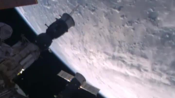 Así es el huracán Matthew visto desde el espacio.