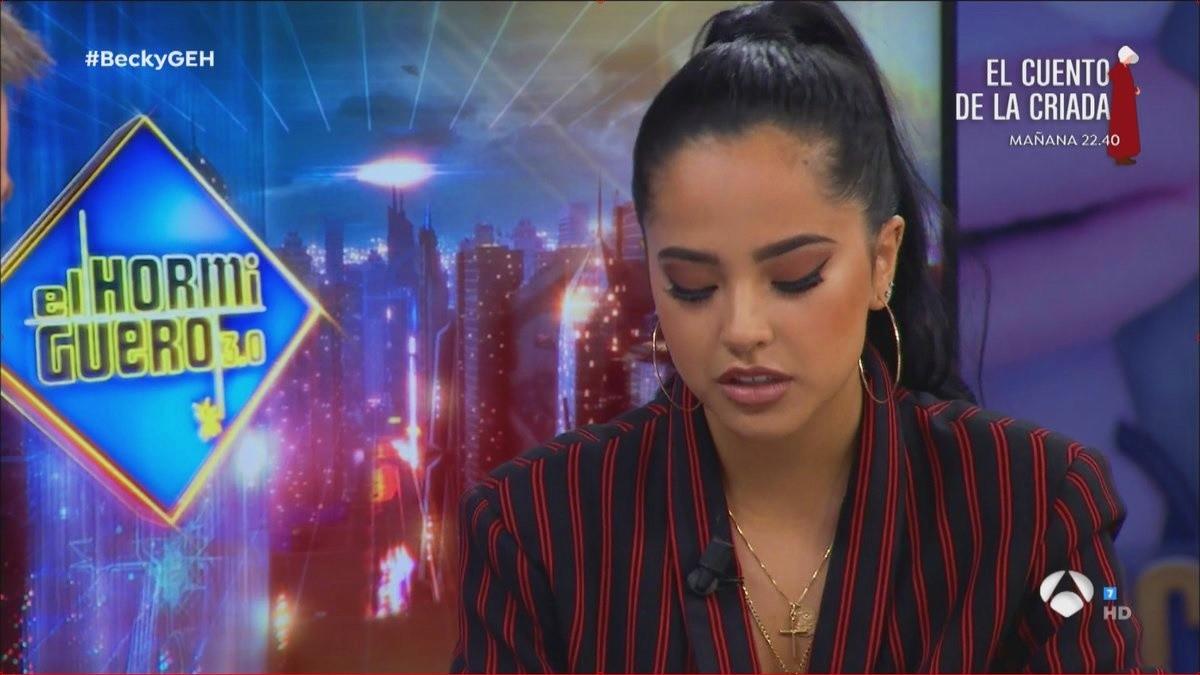 Becky G. se queja de OT 2017 en El Hormiguero.