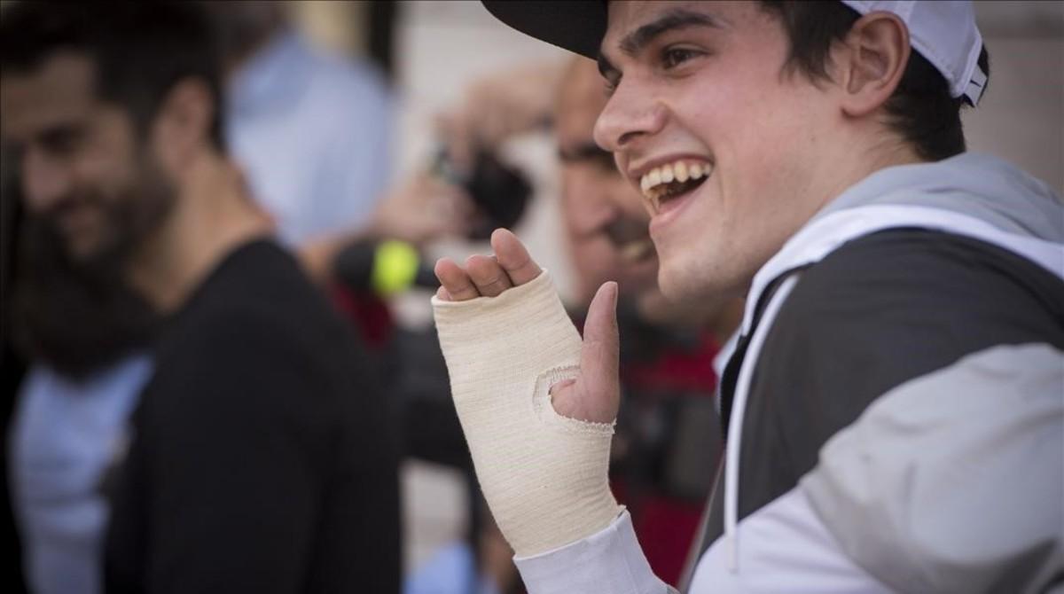 Bruno Hortelano ha superado las secuelas del accidente.