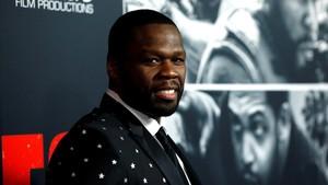 50 Cent posa para la presentación de lanueva película Juego de ladrones en Los Ángeles, el pasado miércoles, 17 de enero.