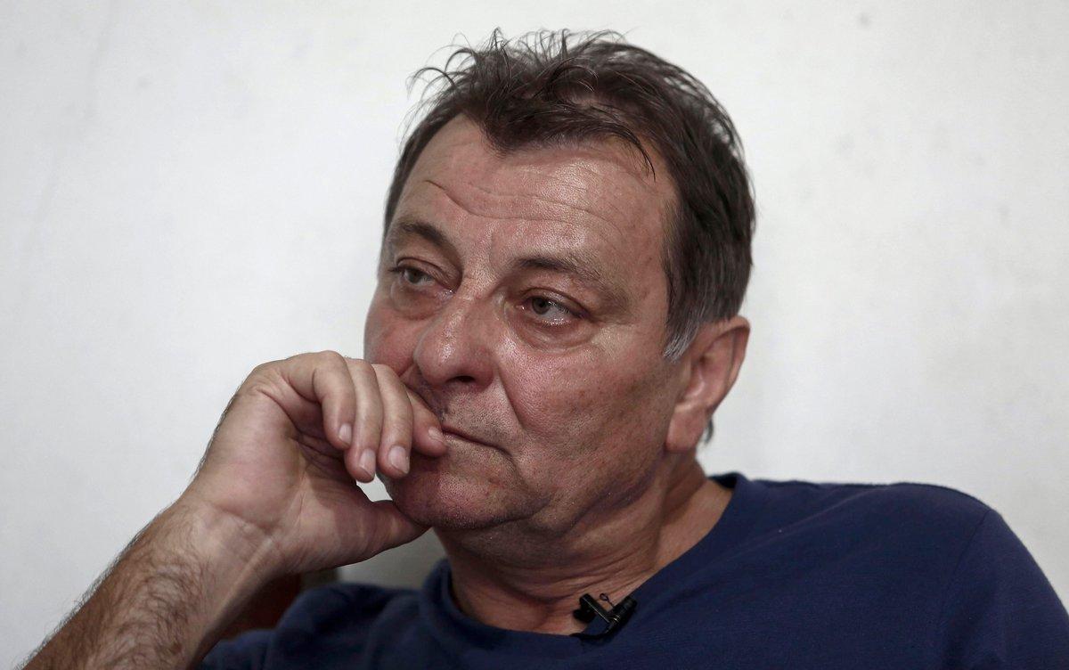 Cesare Battisti, durante una entrevista en octubre del 2017 en Sao Paulo.