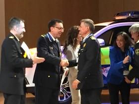 El cap de la Policia Local de Parets rep la medalla al Mèrit Professional
