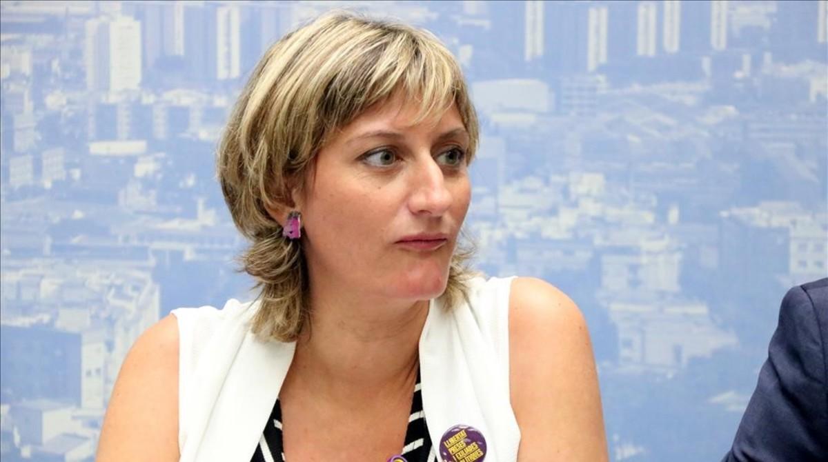 La consellera de Salut, Alba Vergés, el pasado 6 de septiembre.