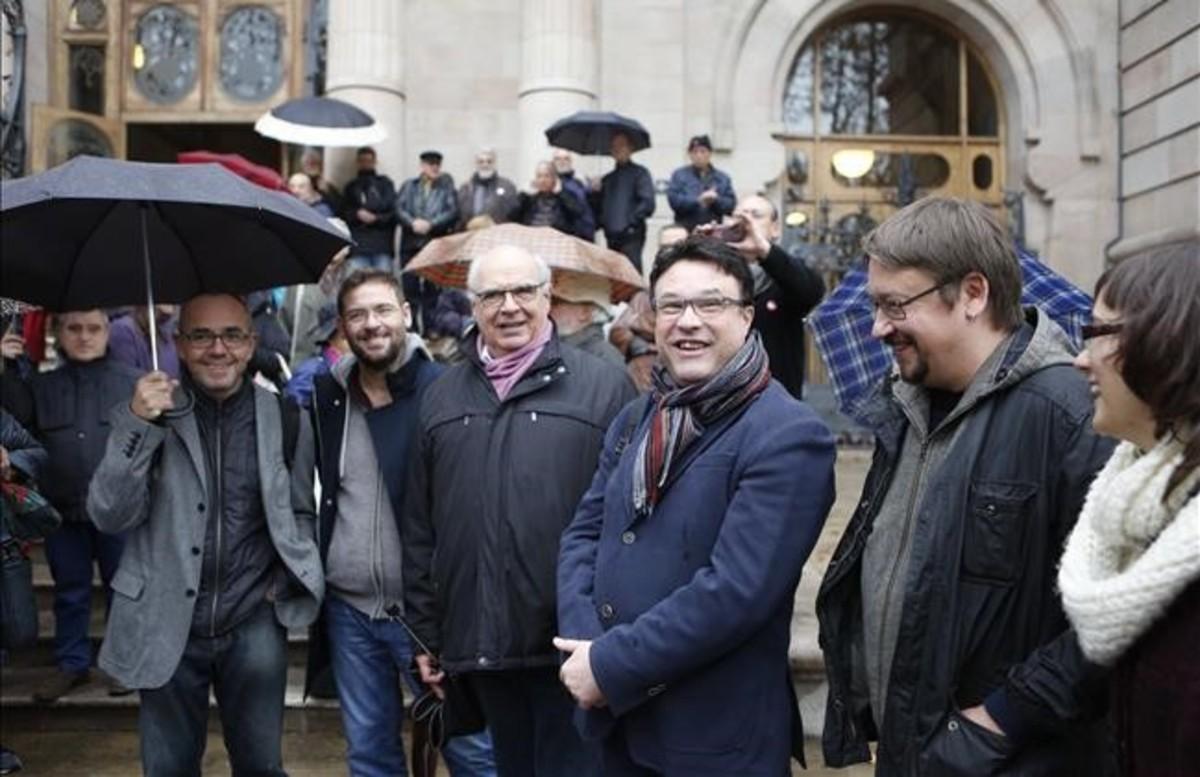 Catalunya Sí que es Pot defensa l'actuació de Forcadell